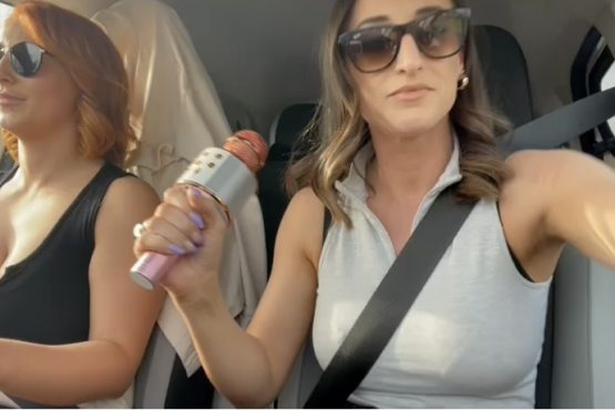 Car pool with Stacey poole vid 2
