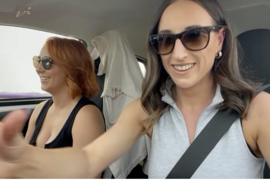 Car pool with Stacey poole video 3