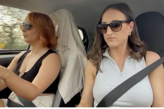 Car pool with Stacey poole vid 5